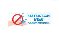 Mesures de restriction d'eau : toujours applicables !
